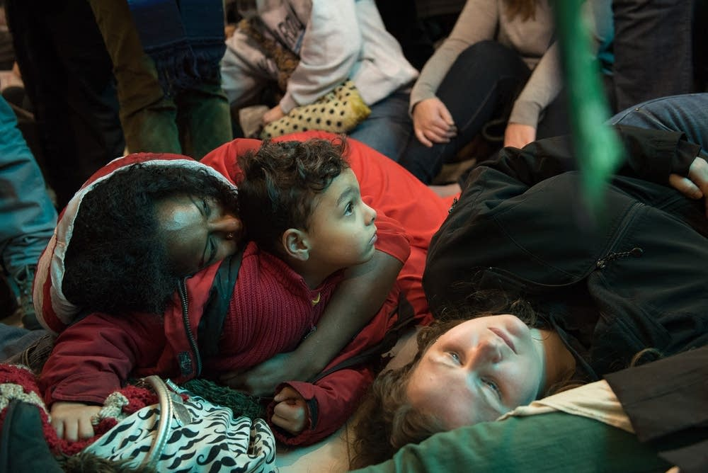 Jayanthi Kyle and her son Ravi