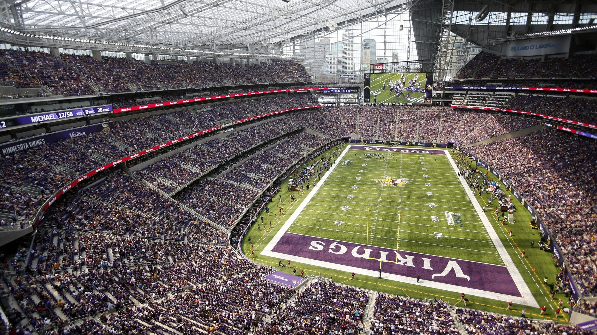 Exterior: Auditor: Agency Breached Ethics In Using Vikings Stadium