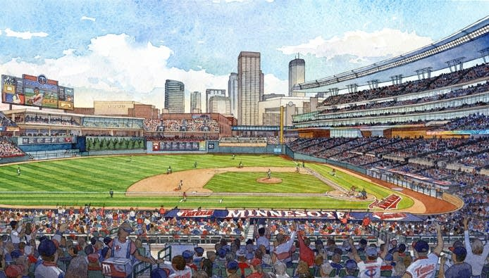 A rendering of the new Target Field