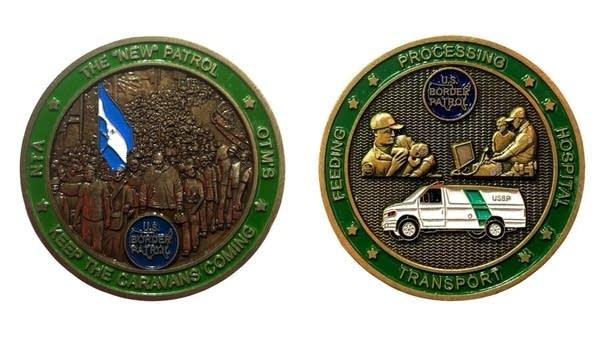 U.S. Border Patrol coin