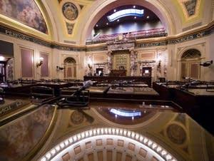 The Minnesota Senate Chamber.