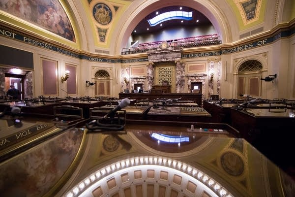 The Minnesota Senate Chamber.