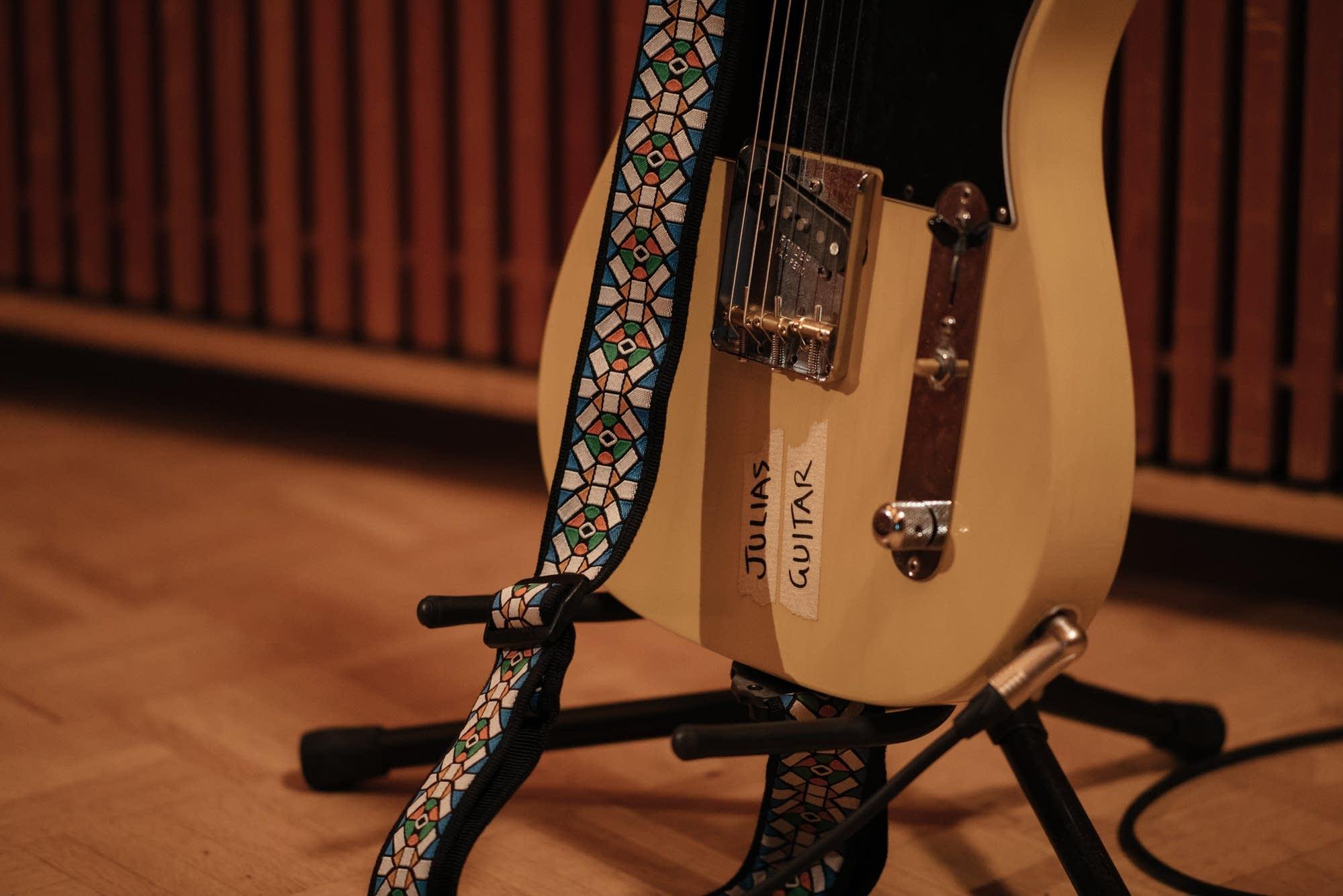 Julia Jacklin performs in The Current studio