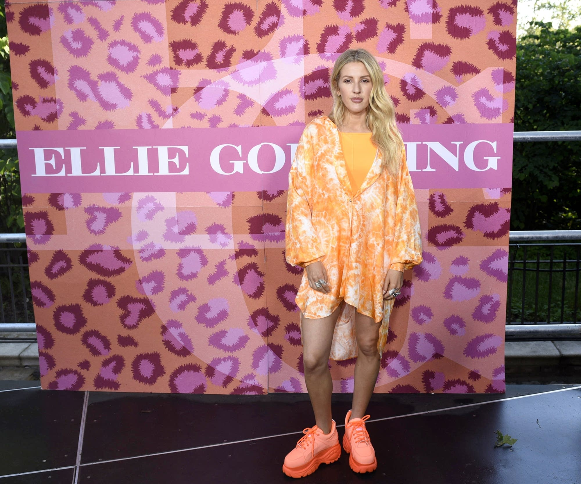 Ellie Goulding on 'Good Morning America' on ABC