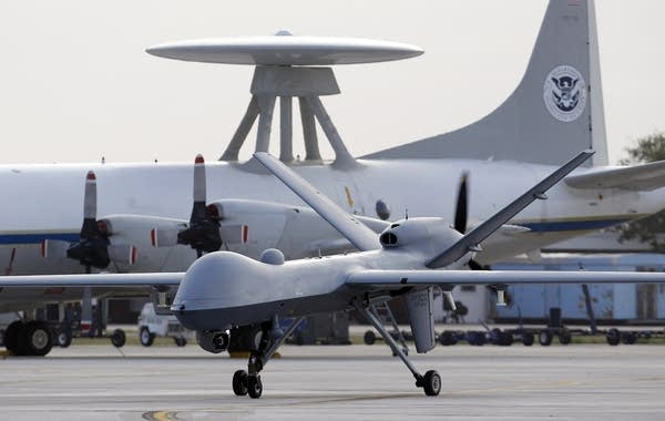 Predator B drone
