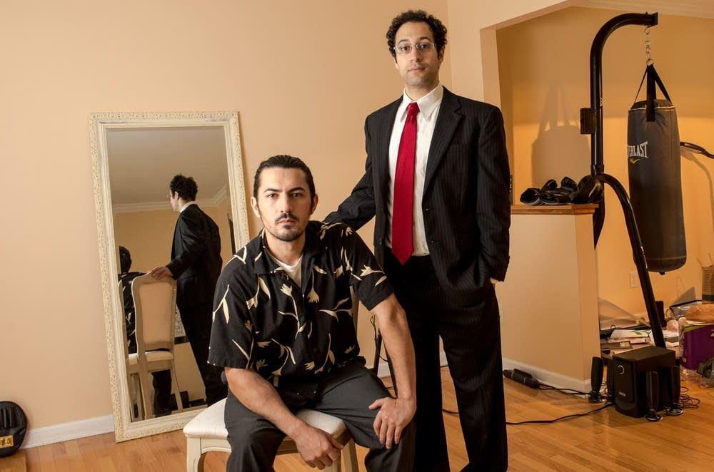 Nabil Ashour and Tony Osman