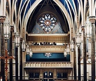 1937 Wicks organ at Saint Mary's Cathedral, Peoria, IL