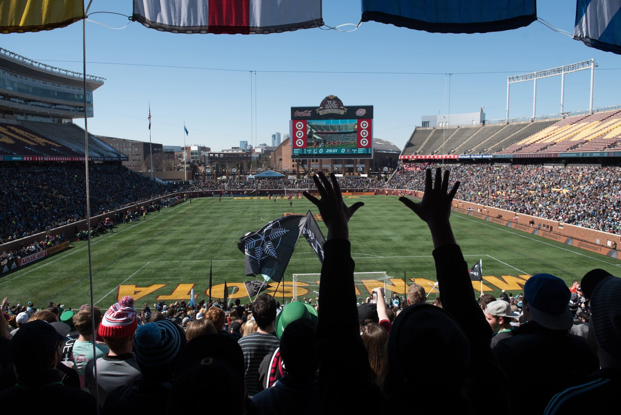 The Minnesota United FC defeated the Chicago Fire 2-1 in the season opener.