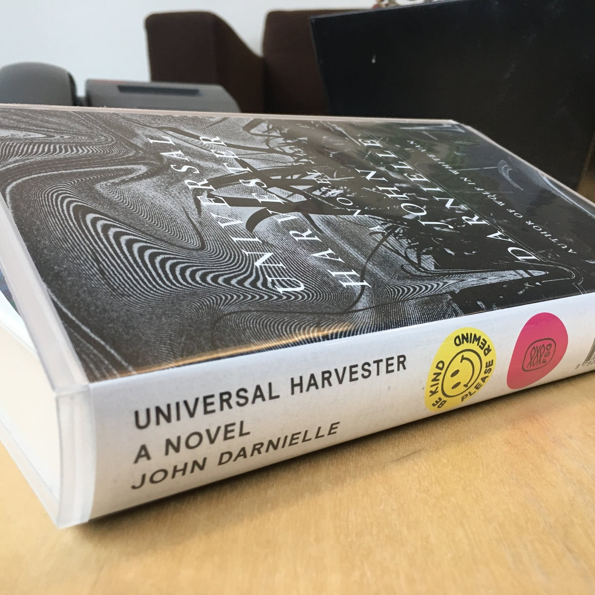 A special promotional edition of 'Universal Harvester'