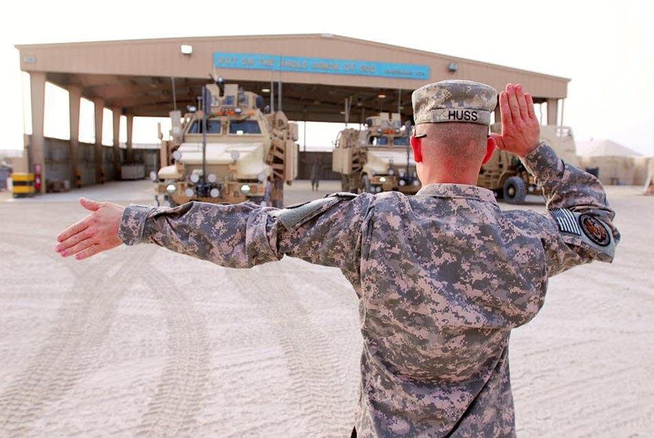 Staff Sgt. Aloysius Huss