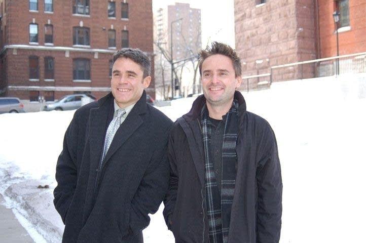 Stephen Main and Matthew Brown