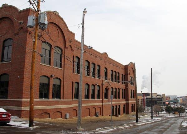 The Hayden Center overlooks downtown St. Paul.