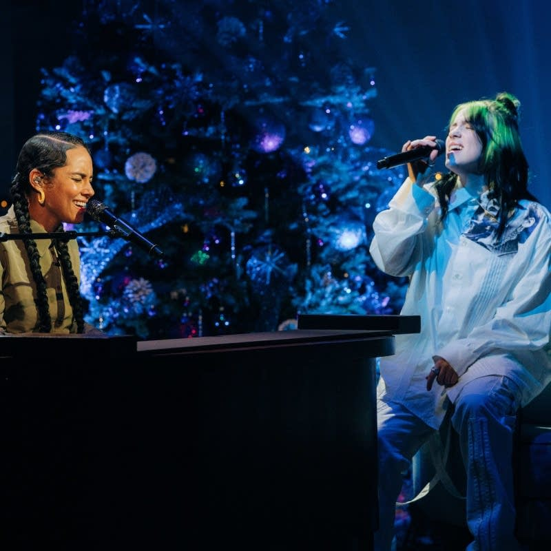 Billie Eilish on 'The Late Late Show' on CBS