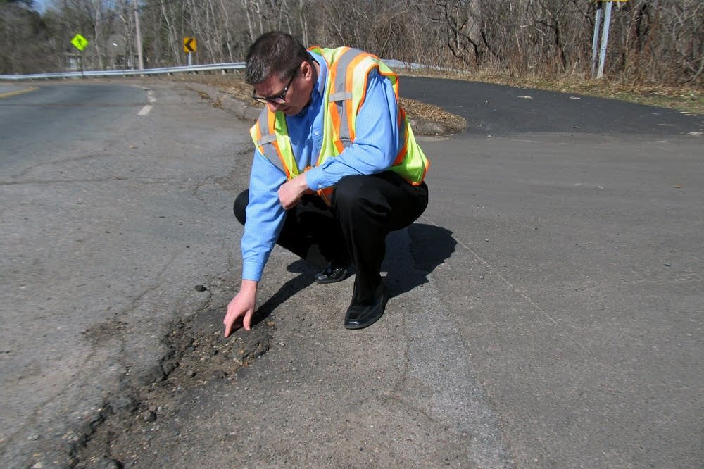 Shoreview pothole