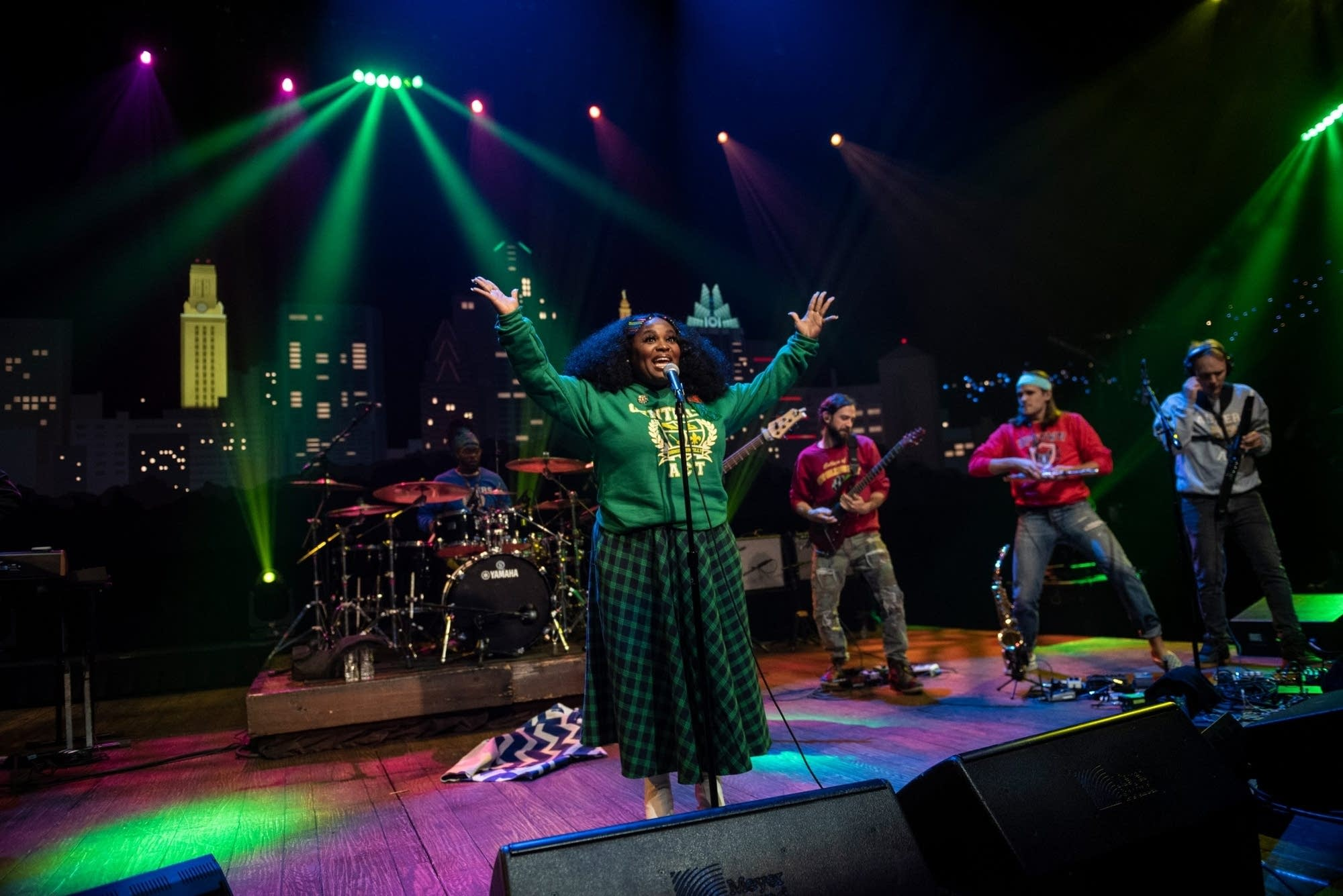 Tank and the Bangas on 'Austin City Limits' on PBS