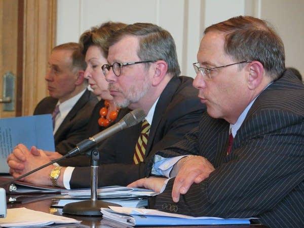 U officials face Senate questioning