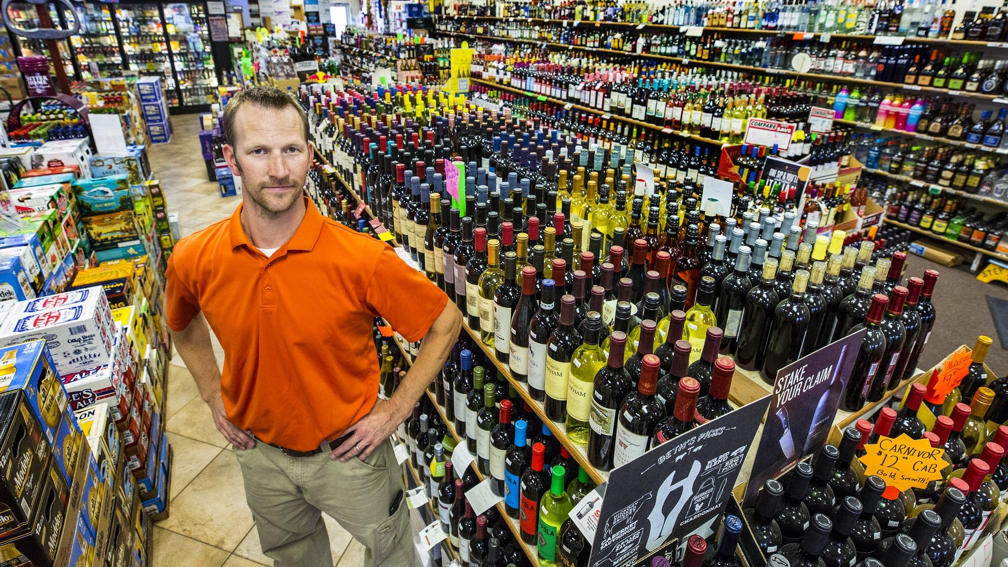 Liquor Shoppe on 25th owner Dave Vos