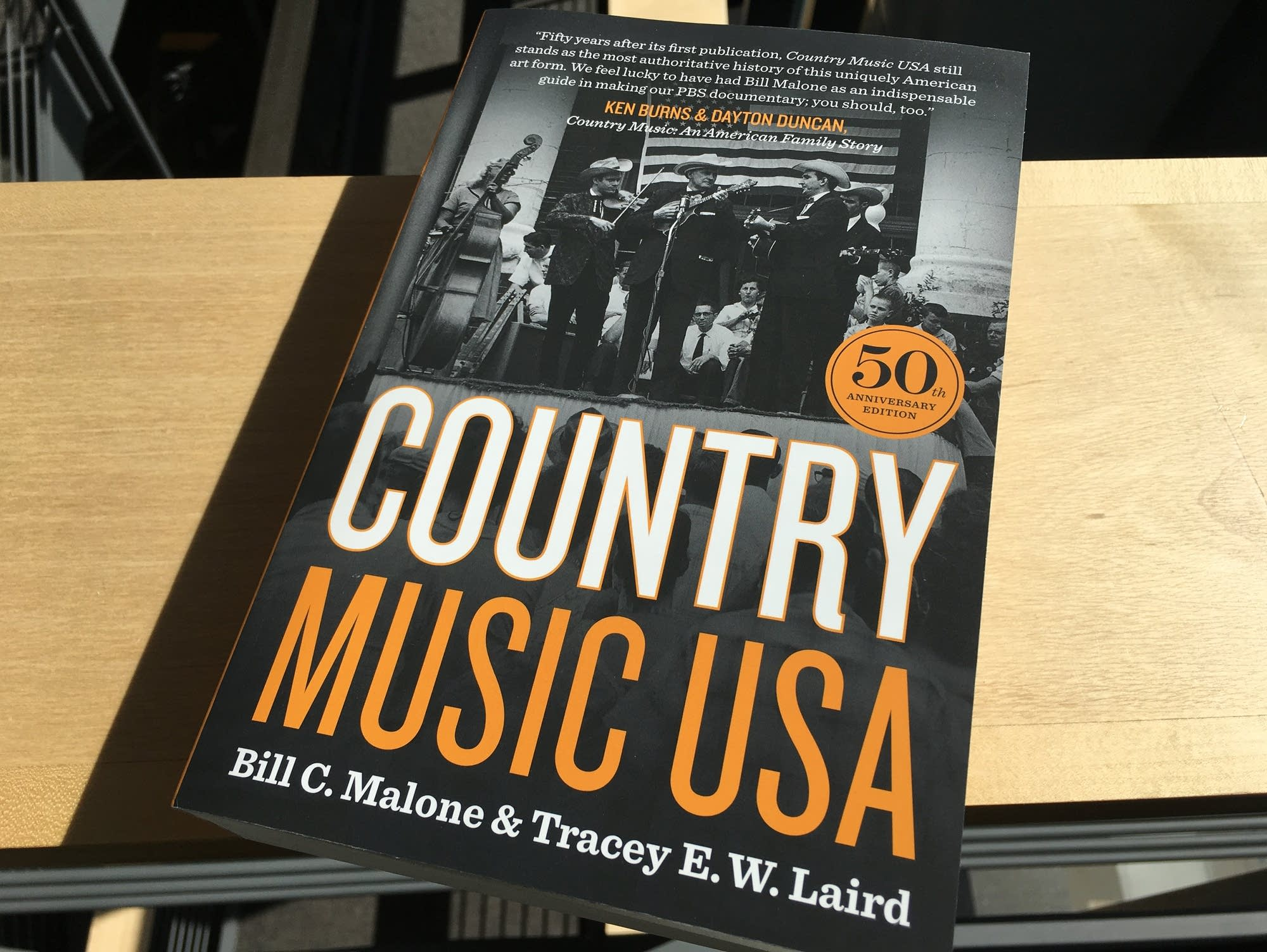 50th anniversary edition of 'Country Music USA.'