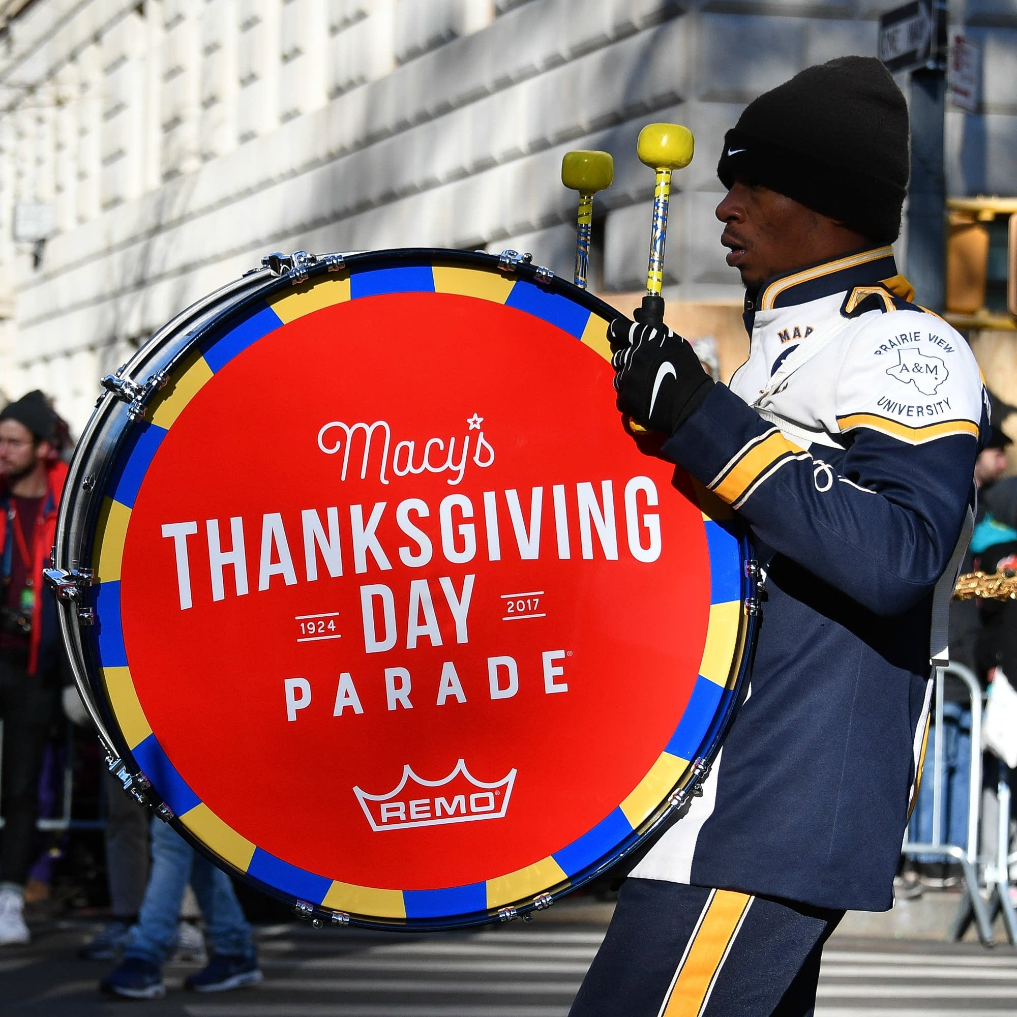 2017 Macy's Thanksgiving Day Parade.