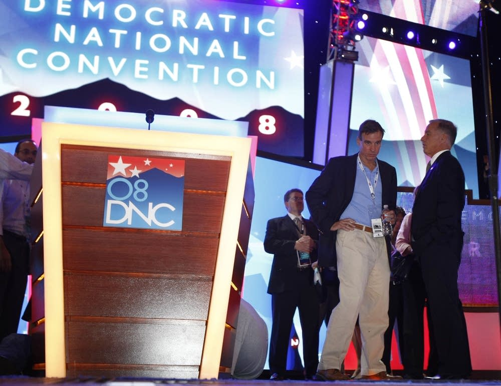 Podium at Democratic National Convention