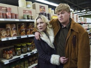 Peggy and Ed Blumquist on 'Fargo'