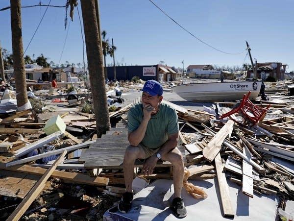 Hurricane Michael damage