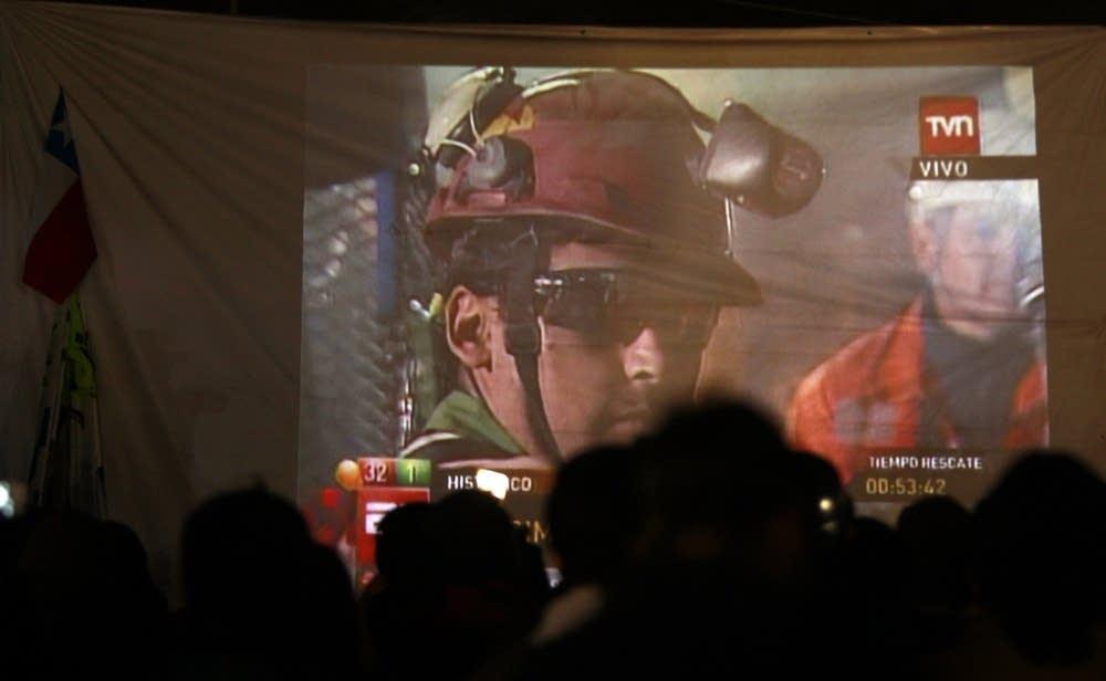 Rescued miner Florencio Avalos