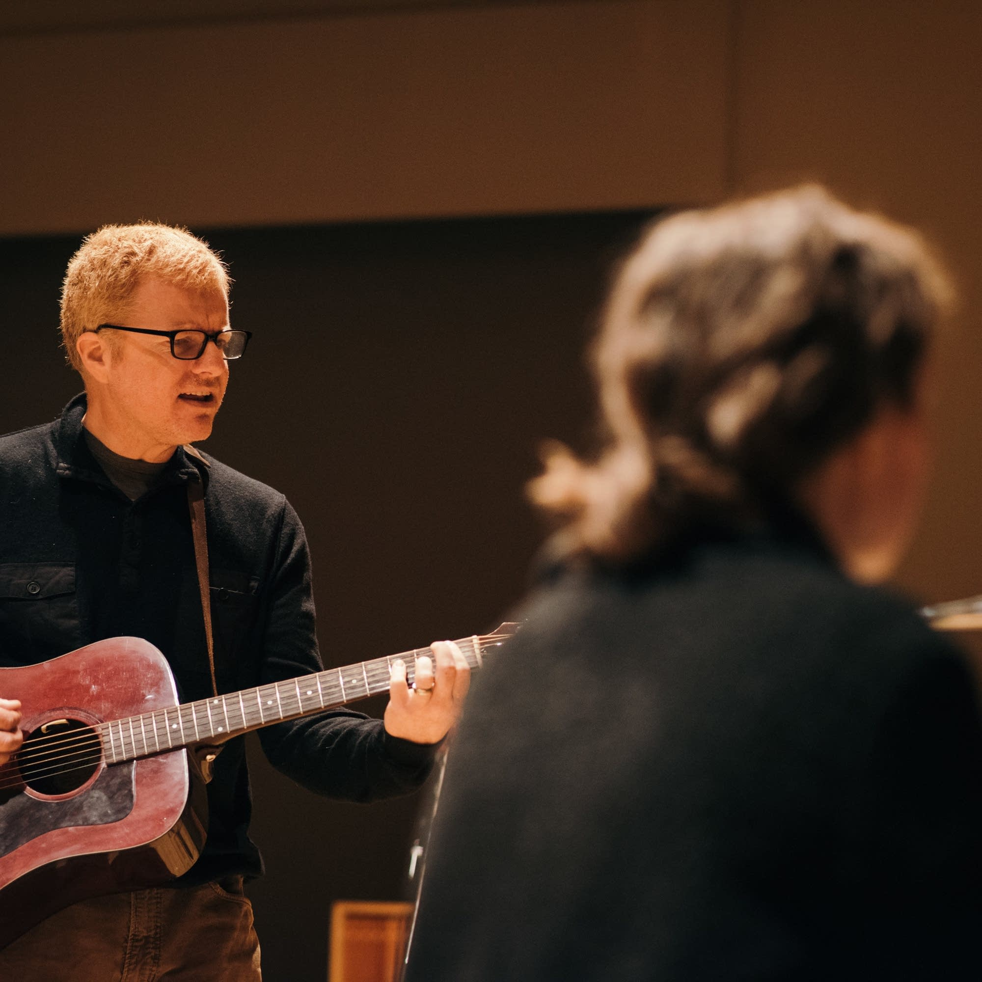 The New Pornographers perform in The Current studio
