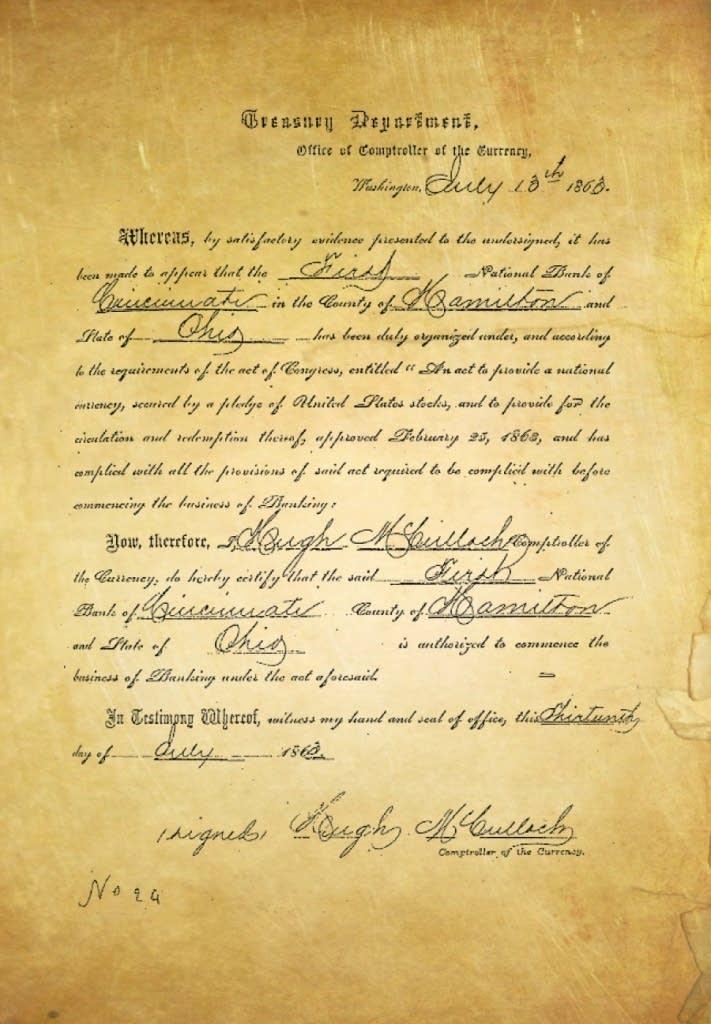 1863 charter