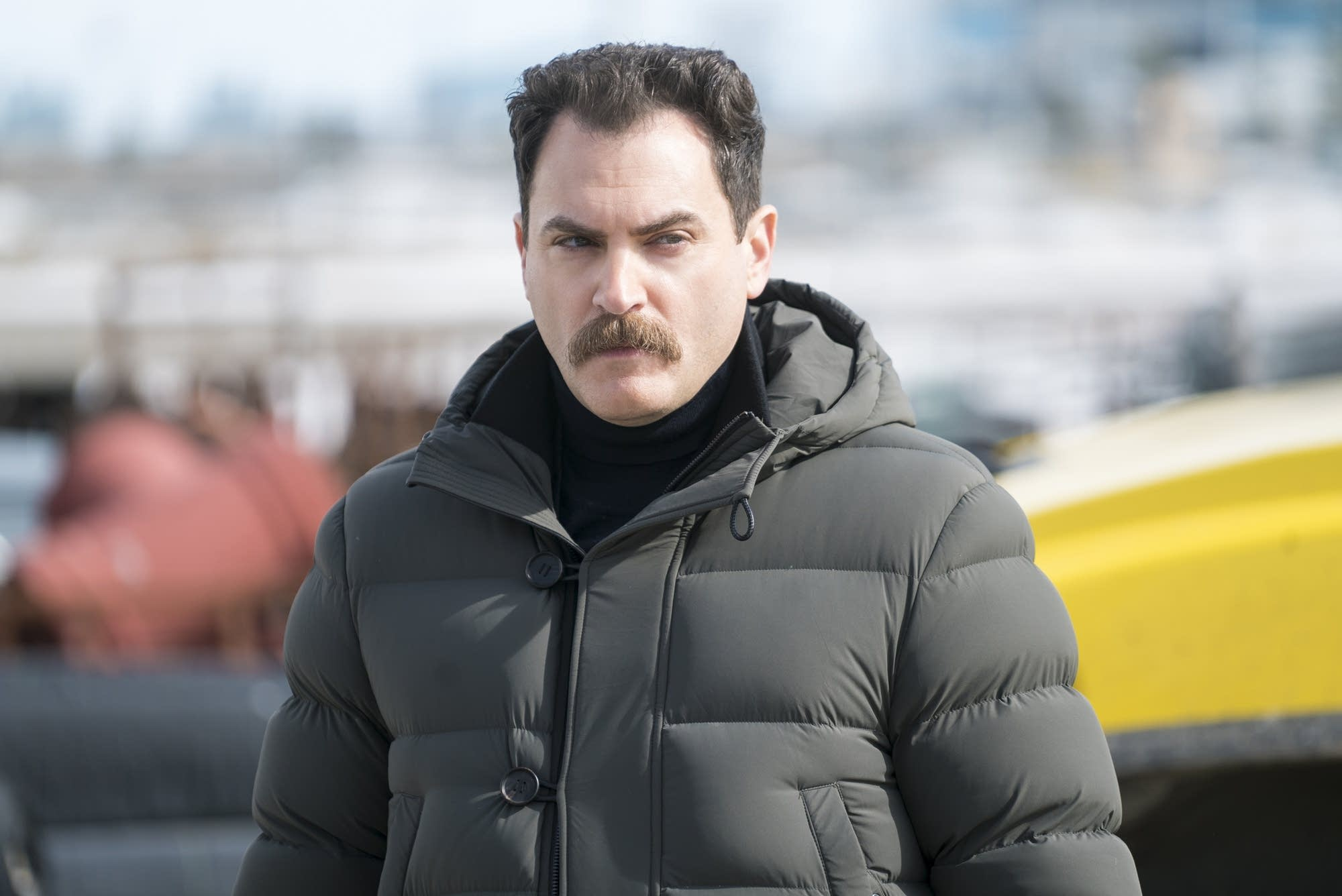 The endangered Sy Feltz (Michael Stuhlbarg) on 'Fargo.'