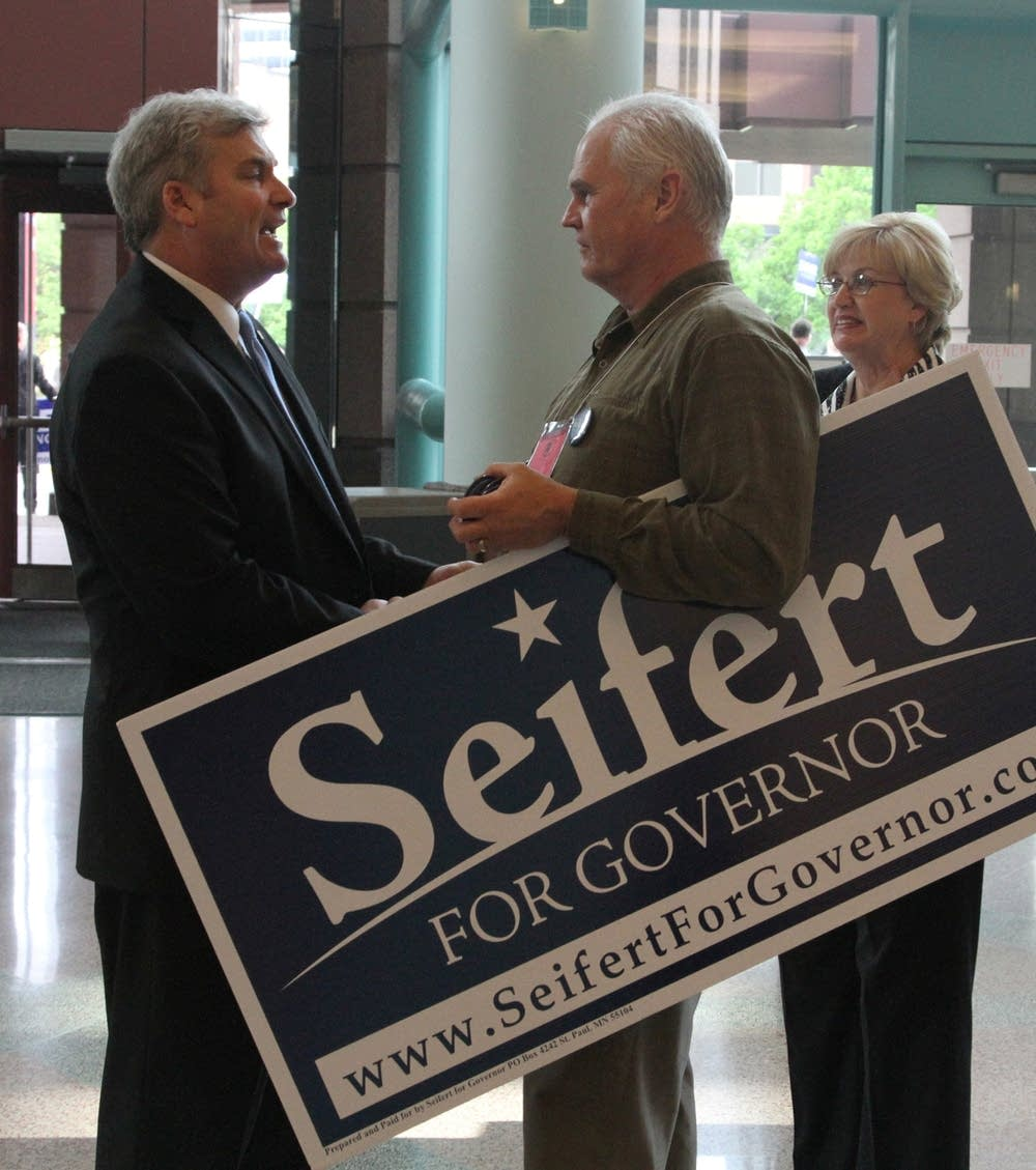 Seifert supporter meets Emmer