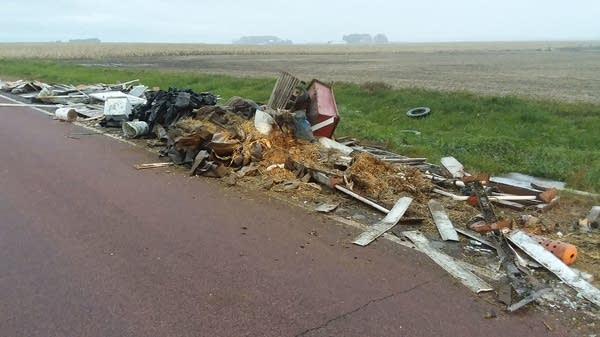 Brown County illegal dumping