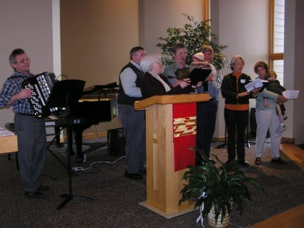 Living Waters Lutheran church choir