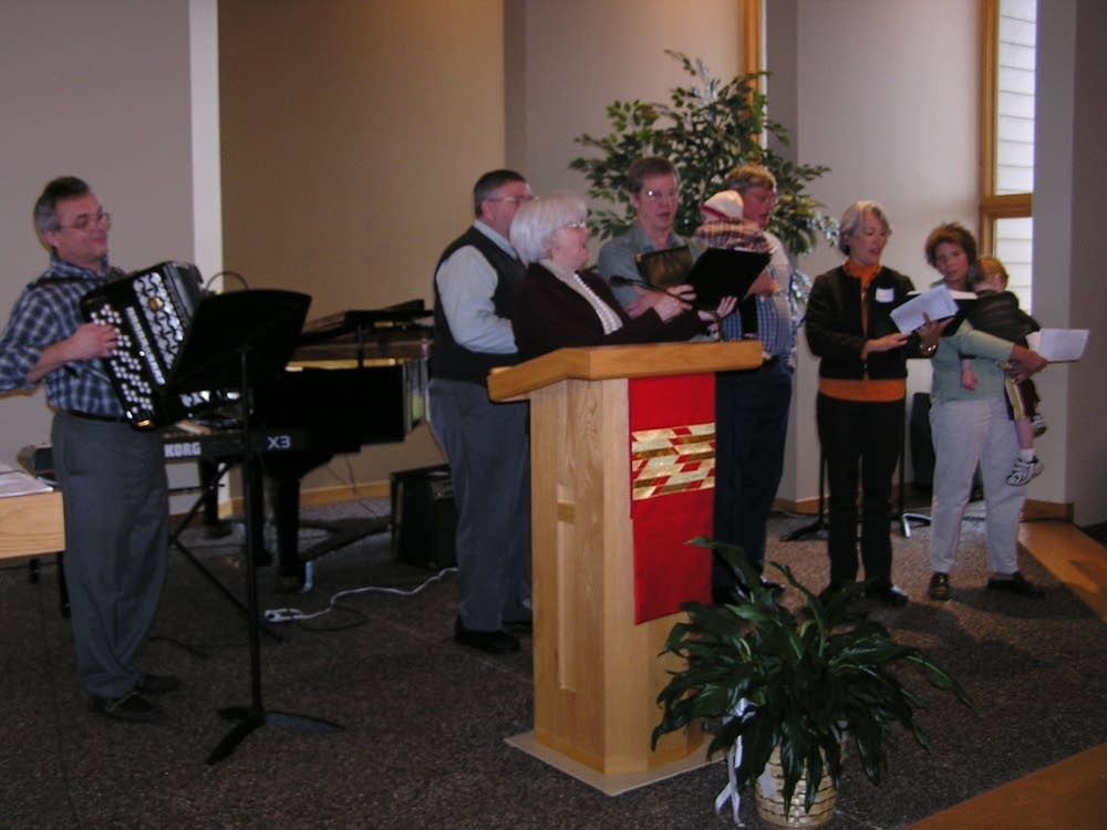 Living Waters Lutheran church choir