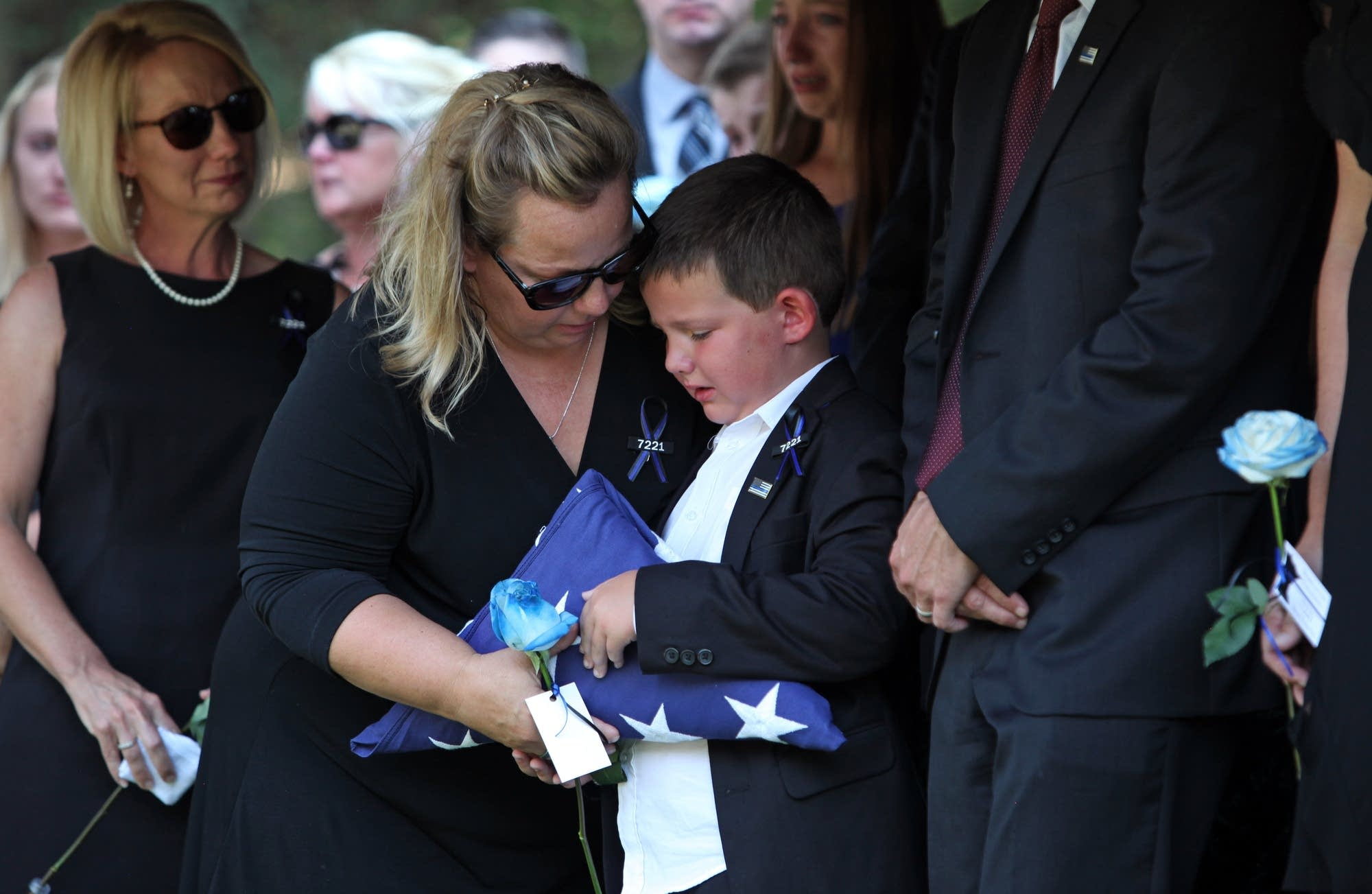 Mathews left behind his wife and 7-year-old son.