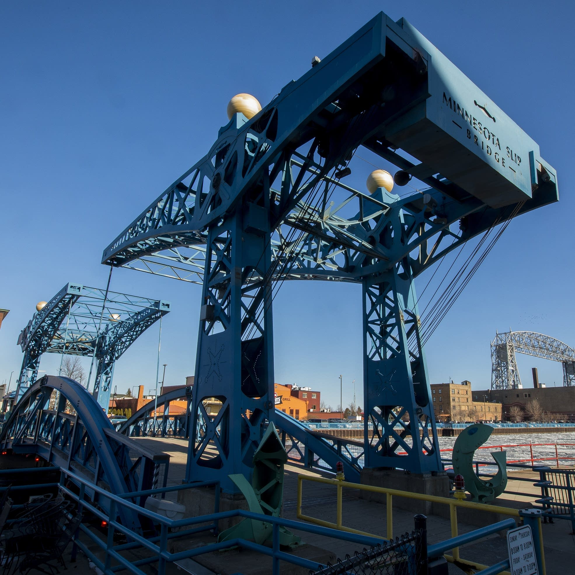 Duluth hopes broken blue bridge will soon rise to the