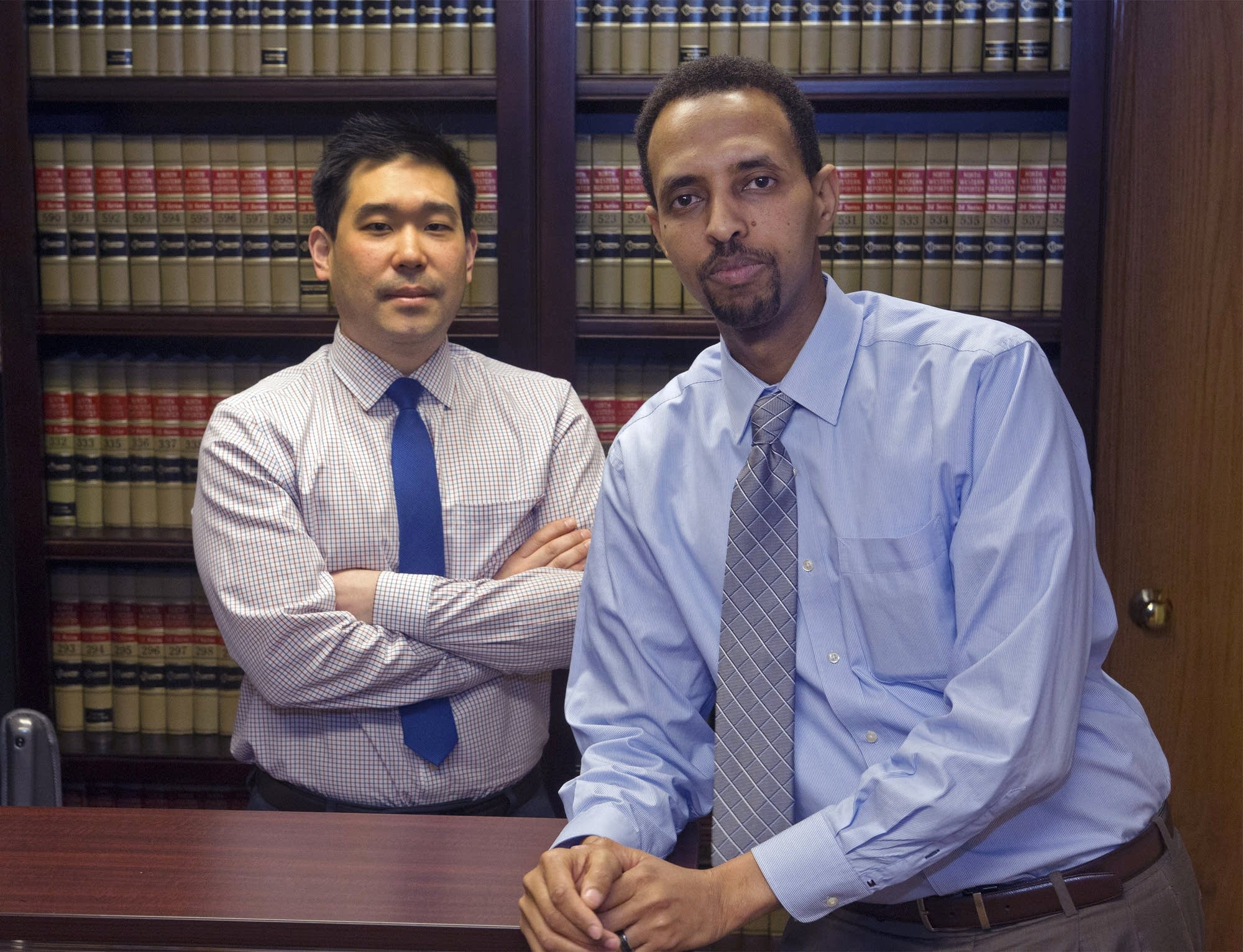 Christopher Lee and Abdinasir Abdulahi, attorneys at AMA Law Group