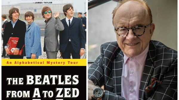"Peter Asher and the cover of ""The Beatles from A to Zed."""