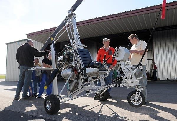 Denis Schoemaker's gyrocopter