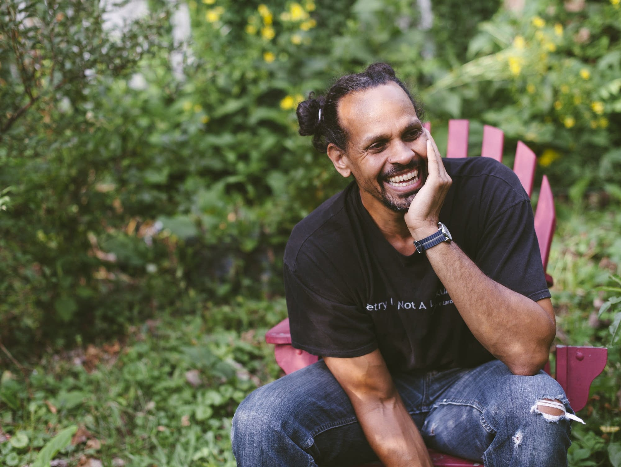 """Ross Gay, author of """"The book of Delights."""""""