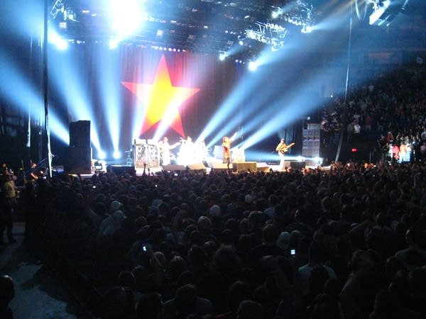 Rage Against the Machine at the Target Center