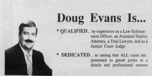 The rise and reign of Doug Evans
