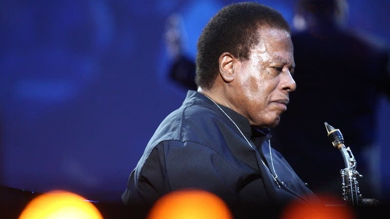 Saxophonist Wayne Shorter, photographed in 2014.