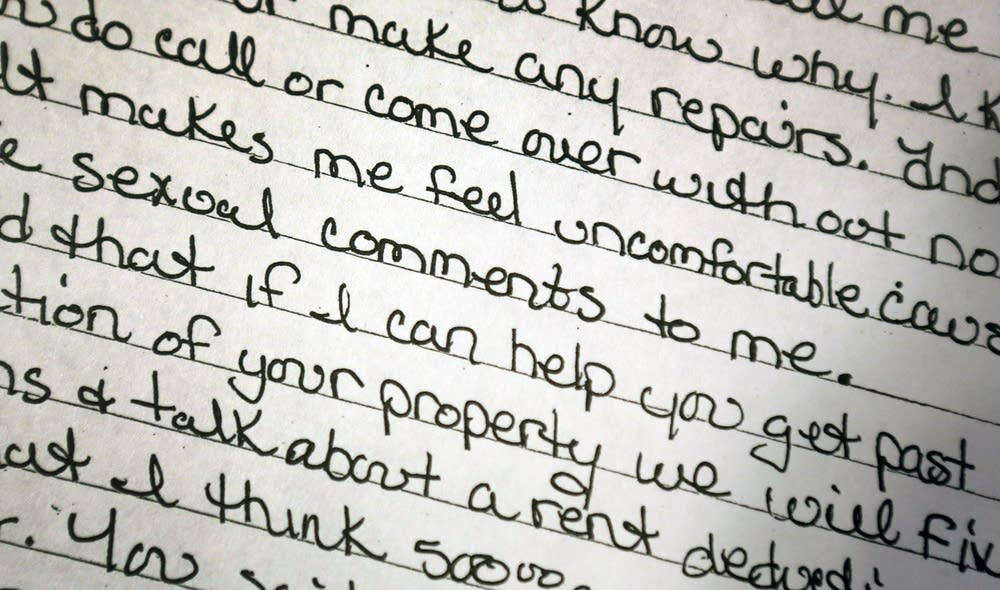 Letter to landlord