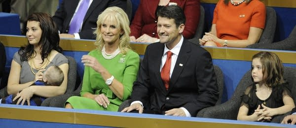 Palin family and Cindy McCain