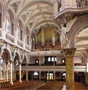 1876 Roosevelt organ at St. James Church, New Bedford, MA