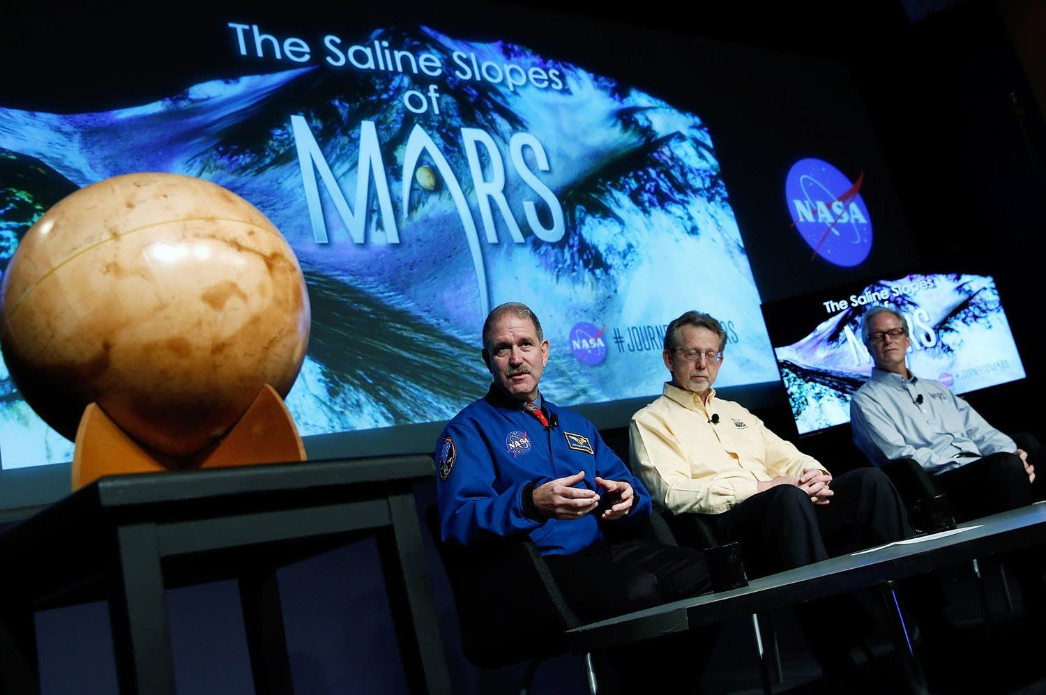 NASA Announces Major Scientific Finding On Mars