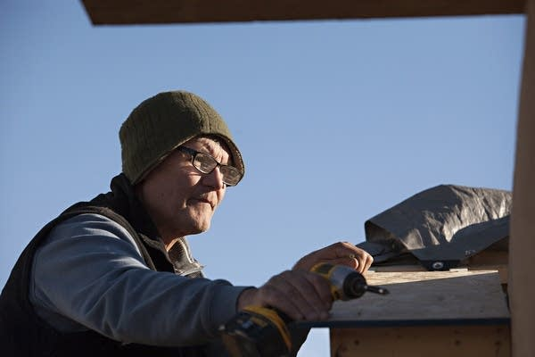 Frank Sander, 67, of Knife River, Minn.
