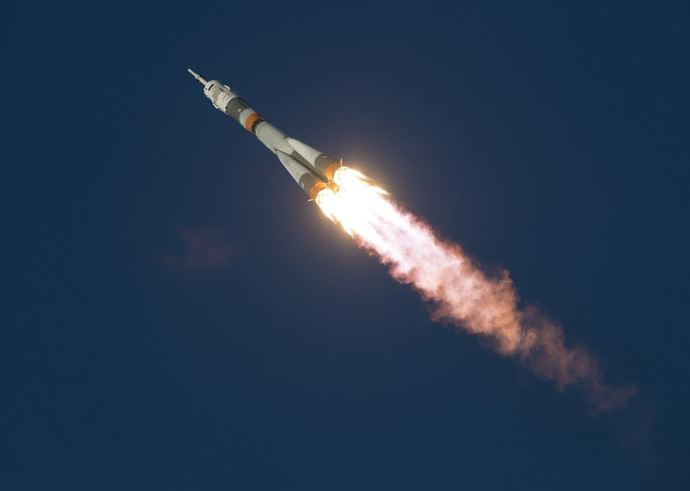 Soyuz Expedition 46 Launch