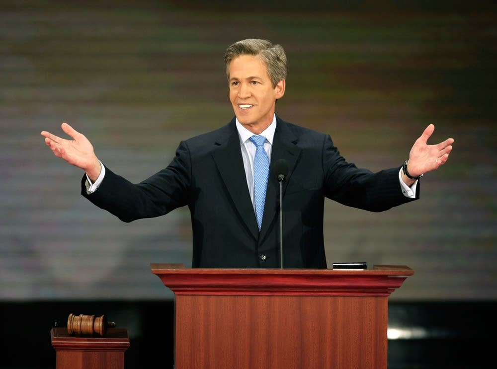 Sen. Norm Coleman speaks at the RNC on day 2